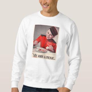 Mi trabajo es una comida campestre - pequeño suéter