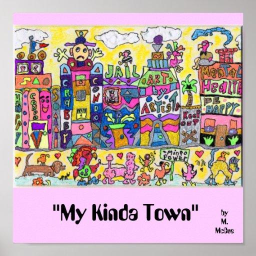 """""""Mi un poco ciudad """" Impresiones"""