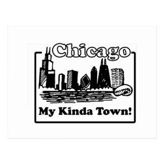 Mi un poco ciudad postales