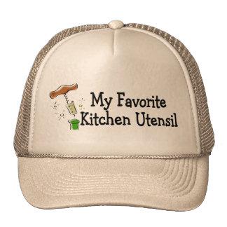 Mi utensilio preferido de la cocina gorro de camionero
