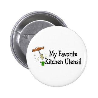 Mi utensilio preferido de la cocina pin redondo de 2 pulgadas