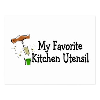 Mi utensilio preferido de la cocina tarjeta postal