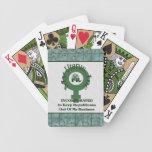 Mi útero, inc. barajas de cartas