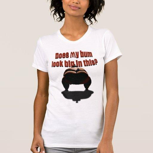 ¿Mi vago parece grande en esto? Camisetas