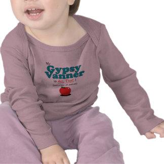 ¡Mi Vanner gitano es todo el eso Caballo divertid Camisetas