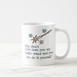 Mi vara mágica tazas de café