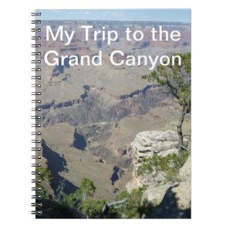 Mi viaje al Gran Cañón Cuaderno