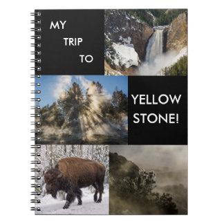 Mi viaje al parque nacional de Yellowstone Libro De Apuntes