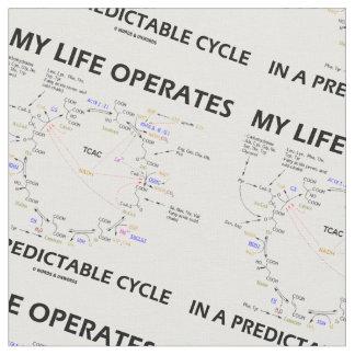Mi vida actúa en un ciclo fiable (Krebs) Telas