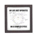 Mi vida apenas actúa encendido un ciclo complejo ( caja de joyas de calidad