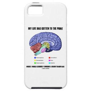 Mi vida conseguida para señalar considera el iPhone 5 carcasas
