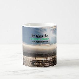 Mi vida del Yukón en Tagish, el Yukón Taza De Café