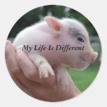 Mi vida es diferente pegatina