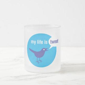 Mi vida es taza de café helada pío