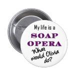 Mi vida es un botón 2 de Olivia de la telenovela 1 Pin