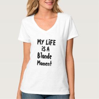 mi vida es un diseño divertido de la camiseta del
