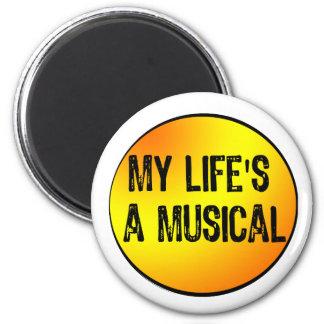 Mi vida es un texto musical Proyector-Amarillo nar Iman
