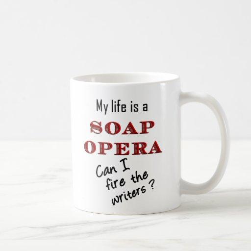 Mi vida es una taza de los escritores de la teleno