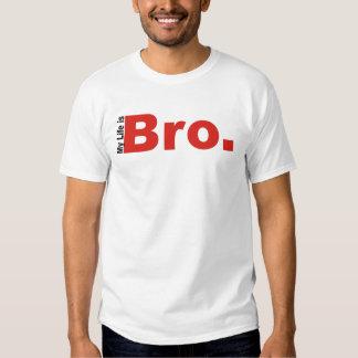 Mi vida es WifeBeater de Bro Remeras