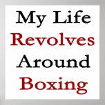 Mi vida gira alrededor del boxeo poster