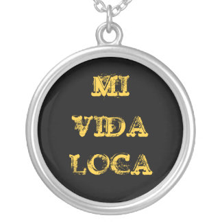 MI VIDA LOCA STERLING SILVER NECKLACES