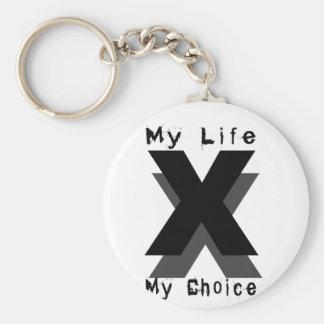 mi vida mi opción llavero