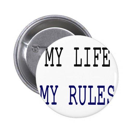 Mi vida mis reglas pins