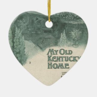 Mi viejo hogar de Kentucky Adorno Para Reyes