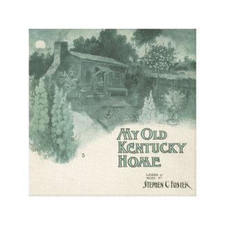 Mi viejo hogar de Kentucky Impresión En Lienzo