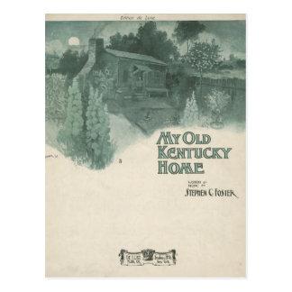 Mi viejo hogar de Kentucky Tarjetas Postales
