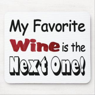 Mi vino preferido alfombrillas de ratones