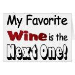 Mi vino preferido tarjetón