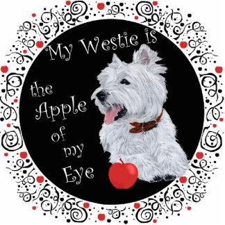 Mi Westie es Apple de mi ojo Fotoescultura Vertical