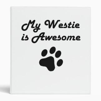 Mi Westie es impresionante