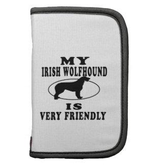 Mi Wolfhound irlandés es muy amistoso Planificador