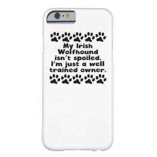 Mi Wolfhound irlandés no se estropea Funda Para iPhone 6 Barely There