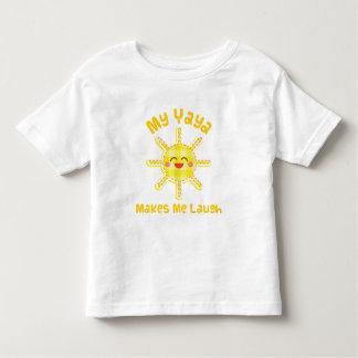 Mi Yaya hace que ríe Camisetas