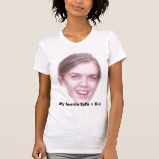 ¡Mi YaYa preferido es Ola! Camisetas