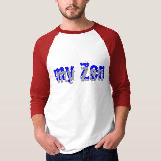 mi zen está deslizando 3/4 camisa con mangas
