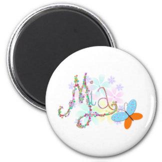 mia 2 inch round magnet