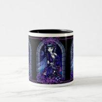 mia fairy, gothic, fantasy, dark, myka, jelina, fairy, art, Mug with custom graphic design
