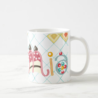 Mia conocido taza de café