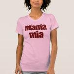 mia de la mamá camiseta