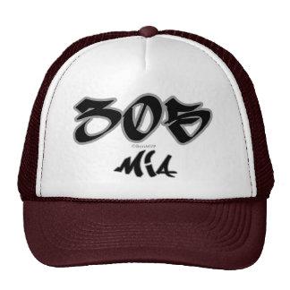 MIA del representante (305) Gorra