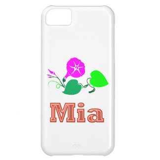 MIA Girl Name Text Case For iPhone 5C