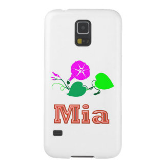 MIA   Girl Name Text Cases For Galaxy S5