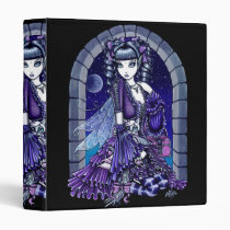 gothic, victorian, art, mia, cat, moon, twlight, fantasy, fairy, fae, faerie, fairies, myka, jelina, white, characters, Binder with custom graphic design