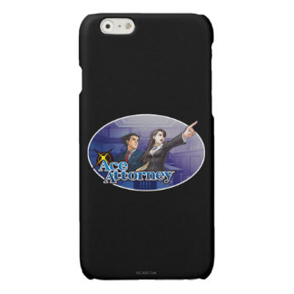 Mia making her point with Phoenix Glossy iPhone 6 Case