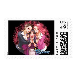 Mia, Maya & April Stamp