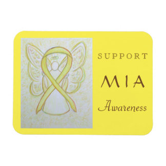 MIA (Missing in Action) Awareness Ribbon Magnet